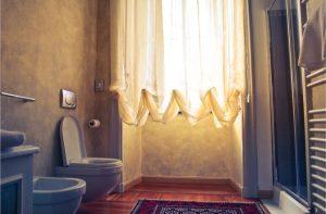 szarość w łazience